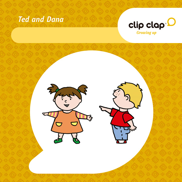 Clip Clap Growing up - Ted & Dana 1