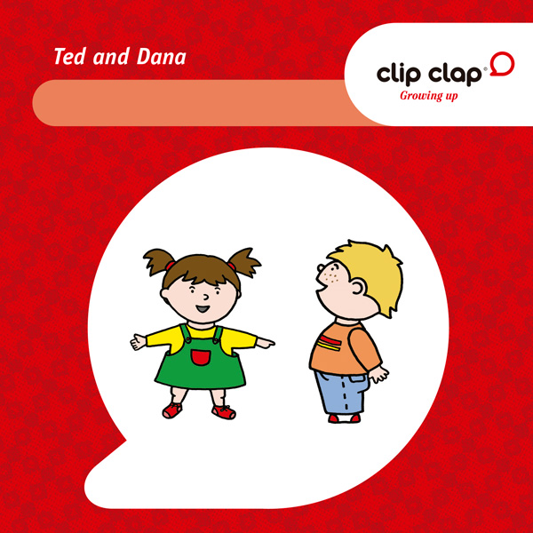 Clip Clap Growing up - Ted & Dana 2