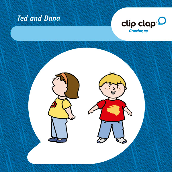Clip Clap Growing up - Ted & Dana 3